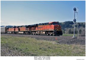BNSF 7634, 4762 and 4590 by hunter1828