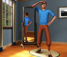 Tintin in Sims 3 by Mii-riam