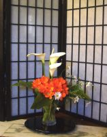 Home-made ikebana 3 by KisaragiChiyo