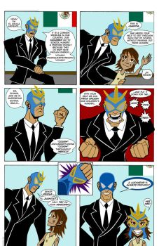 Lucha Libre Banzai PSA Colors by Quietstorm