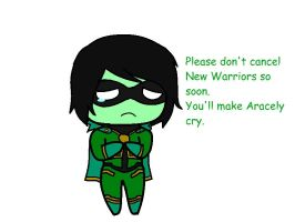 New Warriors Aracely add. by MASTER-OF-SUPRISE