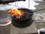 Fire pot by BowAndArrowCrow