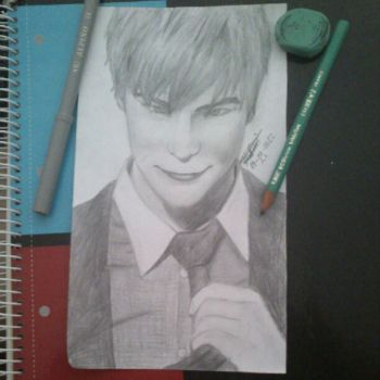 Chace Crawford Drawing Try by endika1995