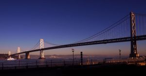 San Francisco Oakland Bay Bridge 02 by abelamario