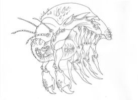 Zerg Overlord - Lines by artfreakguy