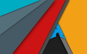 Arch Linux - Material Design Wallpaper [UPDATED] by mzpsh