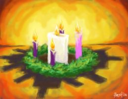 Candles Burning Bright by HarshRealities