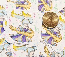 Sona stickers by Etherpendant