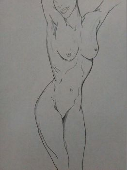 Female nude #1 by jrguillett23