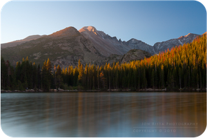 .: Longs Peak Morning Glow :. by jon-rista
