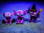 Creepy (cute?) Sableye Plushies by gold94chica