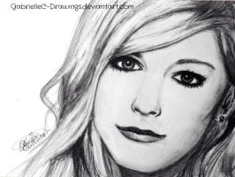 Avril Lavigne by GabrielleC-Drawings