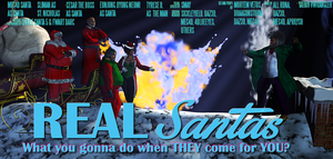 REAL Santas! (two-sheet poster) by vwrangler