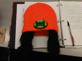 PaRappa the Rapper Hat! by Hojozilla