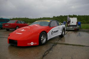 nissan 300zx drag car by ShadowPhotography