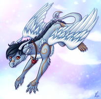 Commission: Wispy by AttackTheMap