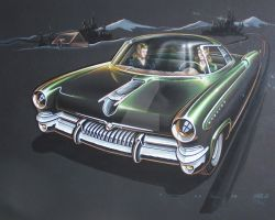 mercury stylist rendering 1949 by cadillacstyle
