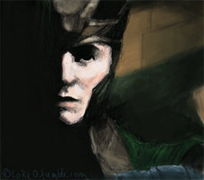 Loki portrait by GoreChick