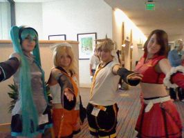Vocaloid group. :D by MegaManVolnutt1