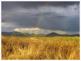 High Desert Rainbow by GramMoo