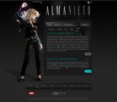 Artist website by D72