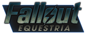 Fallout Equestria Logo by drawponies