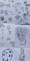 DoodlyBoobly #8 - 3D EDITION by TheLamadude