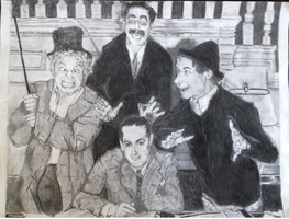 The Marx Brothers by RAWRiamKT