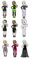 Fashionny Adopts- CLOSED by Supertato