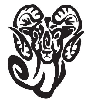 Zodiac Tattoo Designs With Image Zodiac Symbol Picture Tribal Aries Tattoo 8