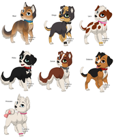dog fancharacters by The1andonlyRaven