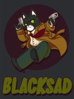 Blacksad by StressedJenny