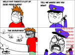 Calling 911.... But Wait 3 -Rage Comic- by Albowtross91