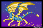 Star Dragon from DC! :D by Ag3nt-Sparx