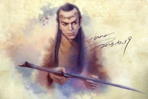 The Hobbit  My Lord Elrond by magnet-hana13