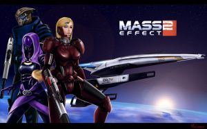 Mass Effect 2 by sade75311