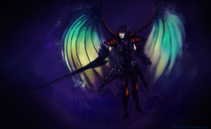 Dark Dragoon by fireillisa