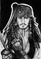 Captain Jack Sparrow by Alb-art