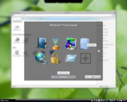 Concept Windows Launchpad Pg1 by AJUST