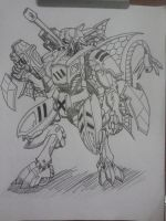 Avali Battle mech commission by Magra123