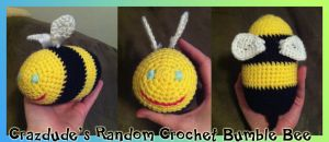 Crazdude's Random Crochet Bumble bee by Crazdude