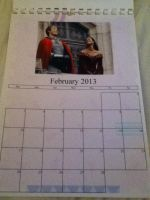 Merlin/HP/1D/Dr. Who Calendar - February by GryffindorPrincess74