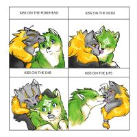 Kiss Meme: Link and Midna by erwil