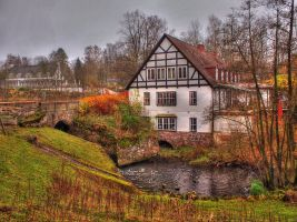 Bismarck Mill by Chris21465