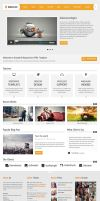 Home Page 3 - DreamLife Responsive HTML Template by DFLPortfolio
