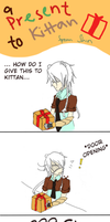 [A-F] Happy Birthday izuraru!: A Present to Kittan by FantaShizukaCloud