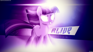 Alive [200 watchers wallpaper of lyfe] by ImLaddi