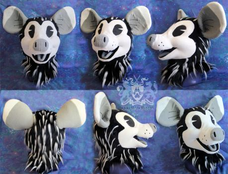 Scrabbles the Inkblot Possum by LobitaWorks