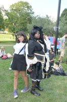 2014 Cosplay Picnic On the Common, Serious Pose 2 by Miss-Tbones
