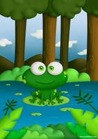 Happy Frog by KellerAC
